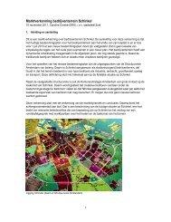 Bijlage 2 Marktverkenning bedrijventerrein Schinkel