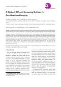 A Study of Different Unwarping Methods for Omnidirectional Imaging - Page 5