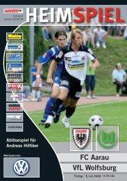 FC Aarau VfL Wolfsburg