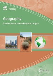 Geography - Curriculum Support