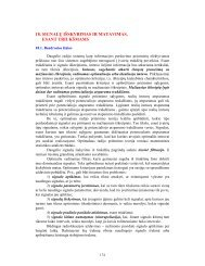 18. SIGNALŲ IŠSKYRIMAS IR MATAVIMAS, ESANT TRIUKŠMAMS