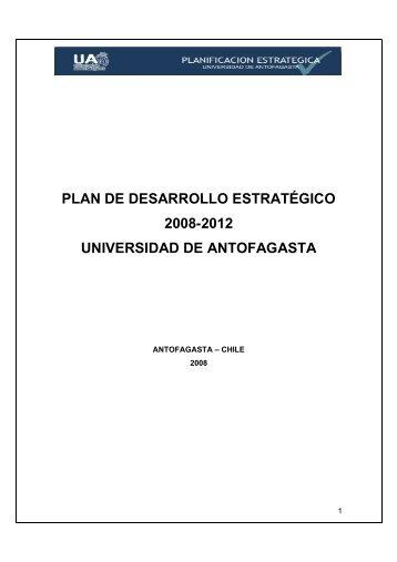 Plan Estrategico UA.pdf - Universidad de Antofagasta