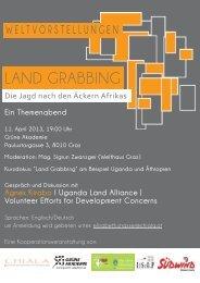 "Kurzdokus: ""Land Grabbing"" - Europa Steiermark"