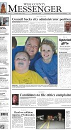 05-08-2011-Sunday - Wise County Messenger