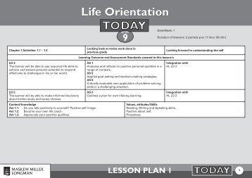 Life Orientation - Thutong