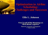 Optimization in Airline Scheduling: Challenges and Successes