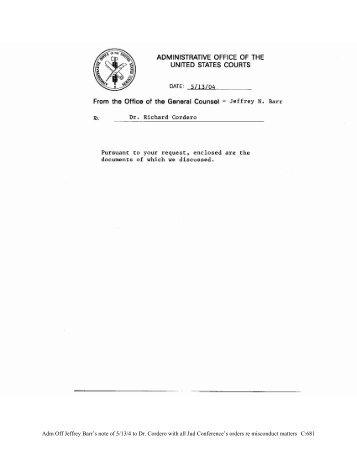 C:682 - Judicial Discipline Reform