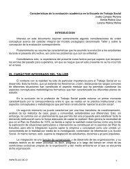 EL CARÁCTER INTEGRADO DEL TALLER - Ts.ucr.ac.cr ...