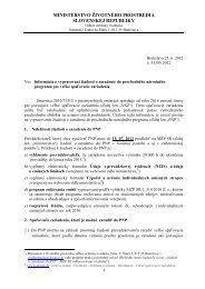 vydanie 25. 06. 2012, pdf 129 kB - Ministerstvo životného prostredia