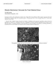 2007 Tim McConnell Vision Robotics McConnell (Robtic Picker)