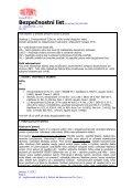 Bezpečnostní list - DuPont - Page 2