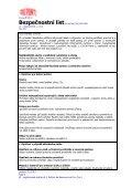 Bezpečnostní list - DuPont - Page 3