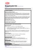 Bezpečnostní list - DuPont - Page 4