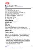 Bezpečnostní list - DuPont - Page 7