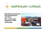 Meerblick-Apartment mit Dachterrasse und Pool ... - Sardinia Living