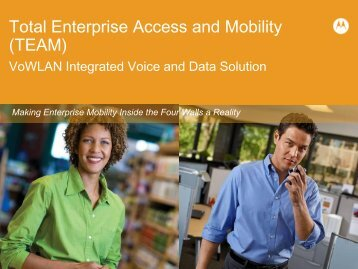 Total Enterprise Access and Mobility Presentation