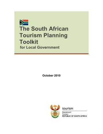The South African Tourism Planning Toolkit - Department of Tourism