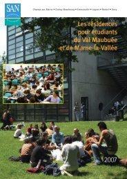Les residences pour etudiants du Val Maubuee et de Marne-la-Vallee