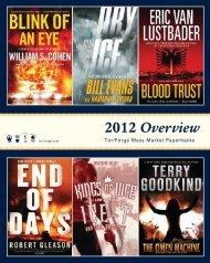 2012 Overview Tor / Forge Mass Market Catalogue - Raincoast Books