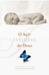 O Agir Invisível de Deus - Livros evangélicos