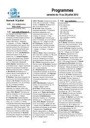 Programmes - rts.ch