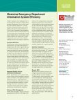 The Financial Impact of an Emergency ... - HIMSS Analytics - Page 4