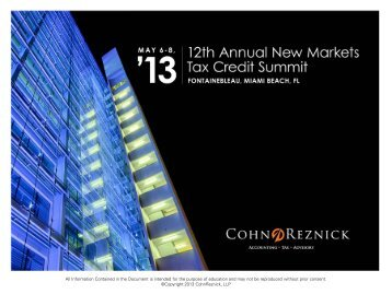 Download now - CohnReznick