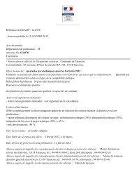 Annonce publiée le 12 JANVIER 2012 Avis de marché ... - Tarascon