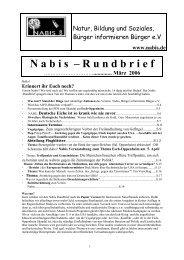 Rundbrief_Fruehjahr_.. - NABIS e.V.