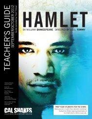 Hamlet Teacher's Guide - California Shakespeare Theater