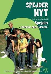 Spejdernyt nr 5 2006 - Danske Baptisters Spejderkorps
