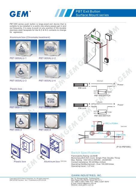 Catalogues - GEM,Gianni Industries, Inc.