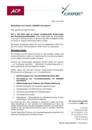 "Wien, Juni 2013 Workshops zum Thema ""WebERV ... - jurXpert"