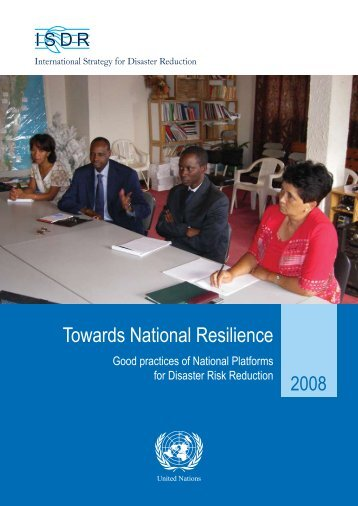 Towards National Resilience - unisdr