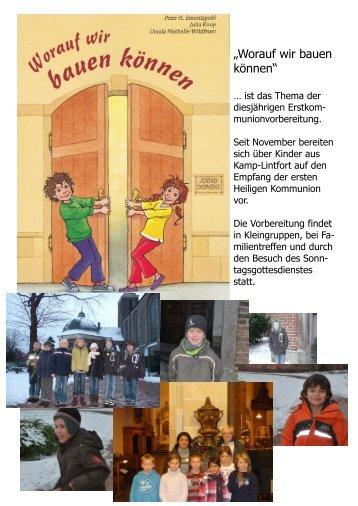 """""""Worauf wir bauen können"""" - Katholische Pfarrgemeinde St. Josef ..."""