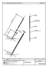 Floorball stick SPCR 011-09e