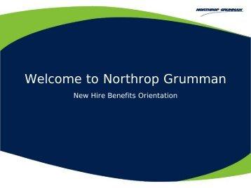 NHO 2011-2012 Main - Benefits Online - Northrop Grumman ...