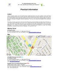 Practical information regarding the venue, maps, hotels, visas.