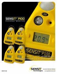 SENSIT P100 Gas Monitor Brochure