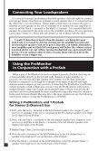 Definitive Technology Promonitor1000white Use And Care Manual - Page 2