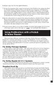 Definitive Technology Promonitor1000white Use And Care Manual - Page 3