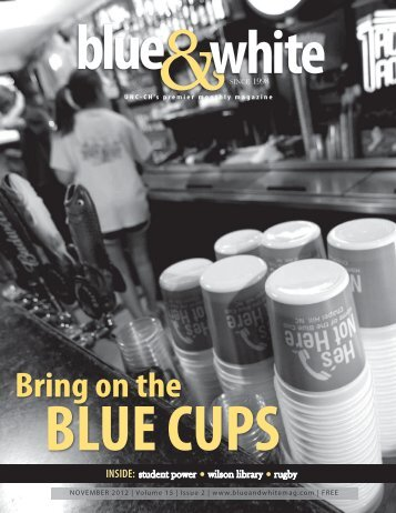 November 2012.indb - Blue & White Online