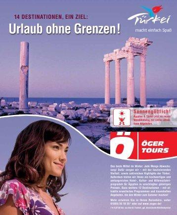 Urlaub ohne Grenzen! - Nansen & Piccard