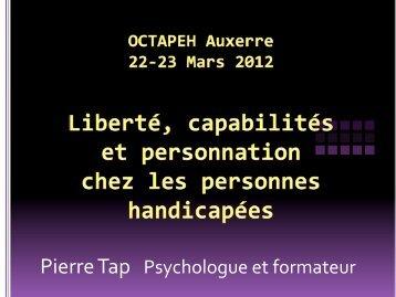 Pierre Tap Psychologue et formateur