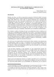 movilización étnica, democracia y crisis estatal - Cholonautas