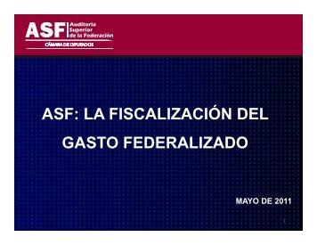 el gasto federalizado - Auditoría General del Estado