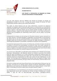 texte intégral du voeu - Ville de Villecresnes