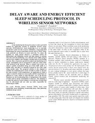 delay aware and energy efficient sleep scheduling protocol in ...