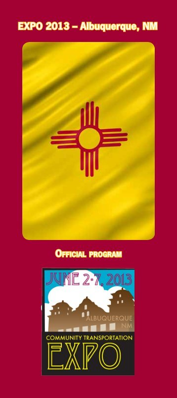 EXPO 2013 – Albuquerque, NM - The Community Transportation ...