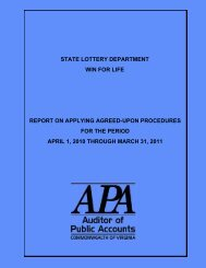 State Lottery Department Win For Life report on Applying Agreed ...